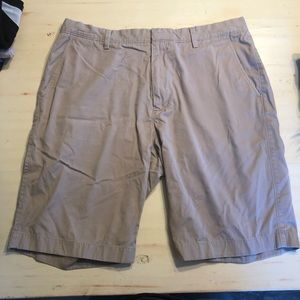 Men's J Crew Kaki Color Shorts // Size 36